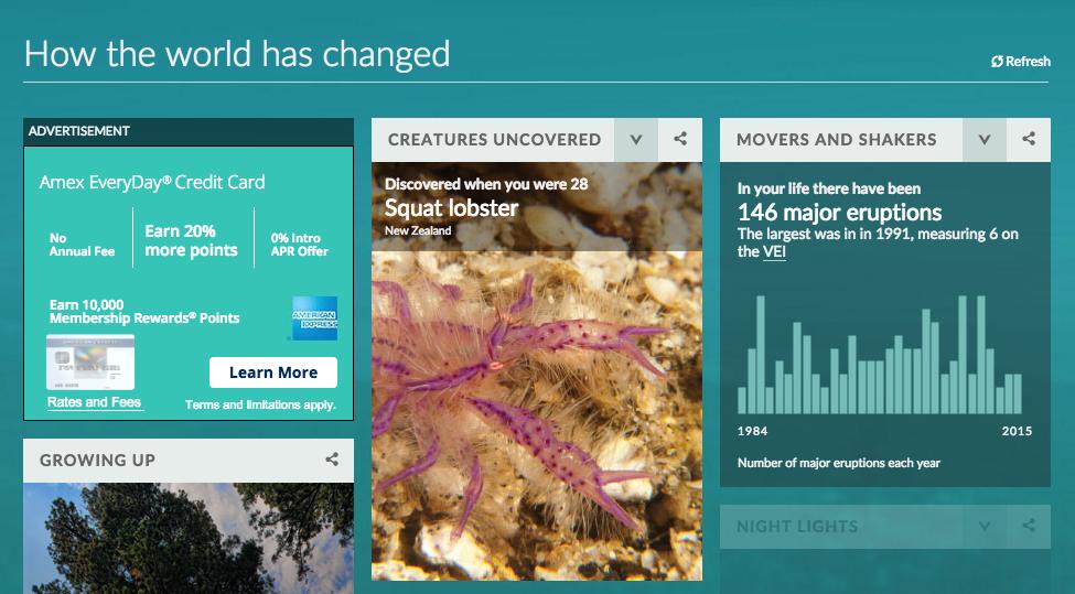 BBC Interactive Infographic
