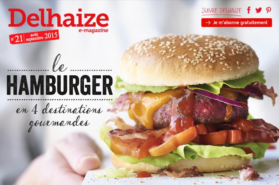 Delhaize Online Magazine