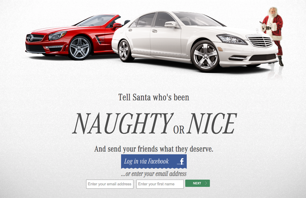 7 holiday social media marketing strategy dos and don ts for Mercedes benz giveaway