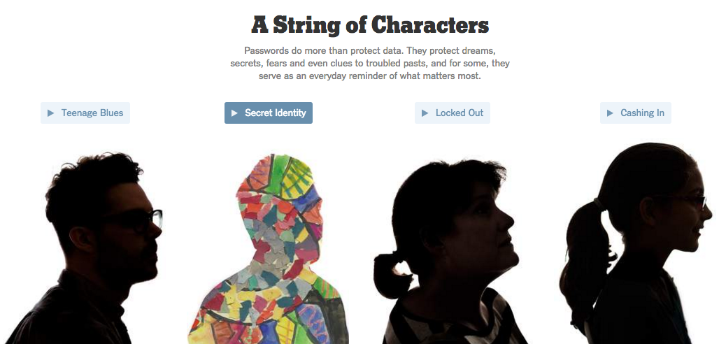 NY Times Interactive Article