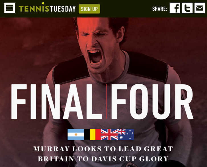 Tennis Tuesday Online Magazine