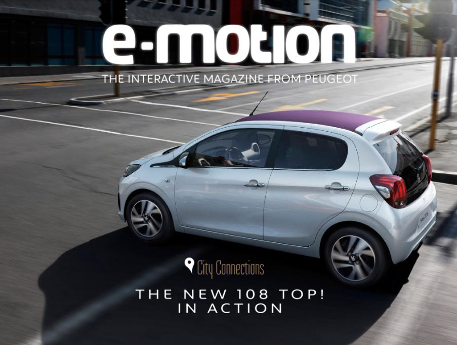 Interactive Magazine: e-motion Magazine Peugeot