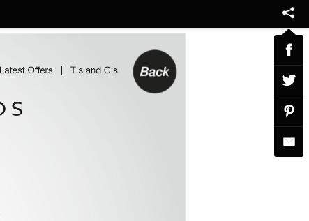 e-motion social share menu - Interactive Magazine