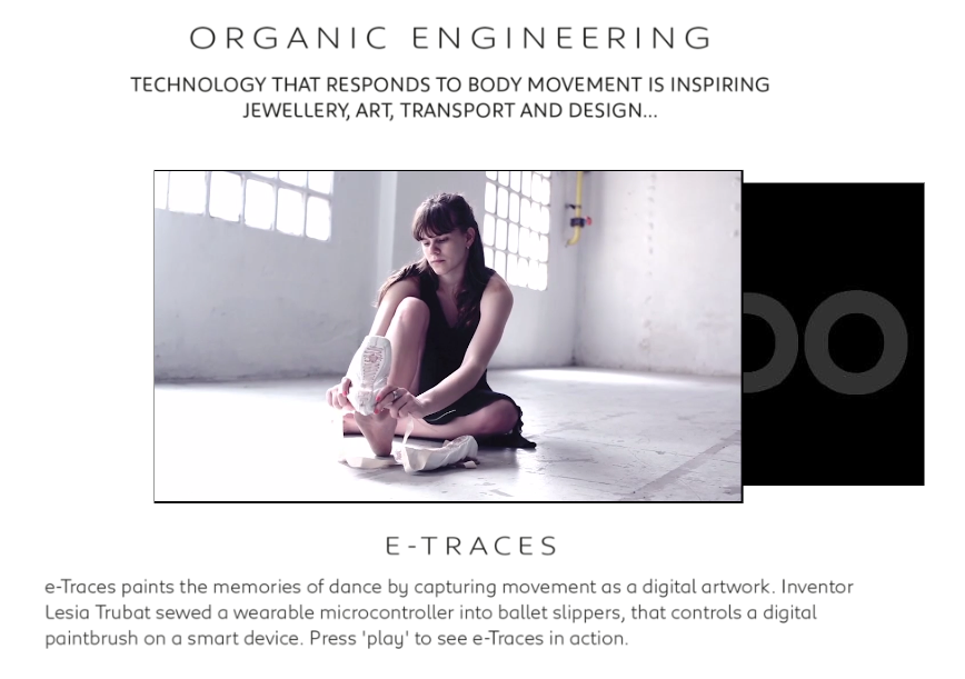 Interactive Magazine: e-motion article
